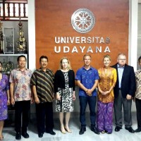 Strengthening The Cooperation, The Ambassador of Finland Has Met The Vice Rector of Udayana
