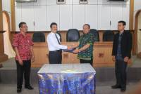 UNUD SIGNED MEMORANDUM OF UNDERSTANDING WITH INDUSTRIAL TRAINING CENTER DENPASAR