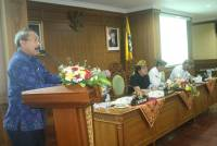 Rector of UNUD Gave a Recommendation to the RPJPD and RPJMD in Badung Regency.