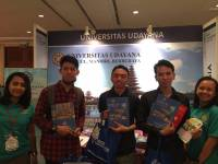 Udayana University follow 'World Postgraduate Expo Indonesia'