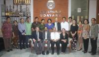Rector of Udayana University Received a Visit From Minnesota University, United States of America