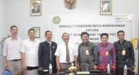 Unud signed MoU with Bank Mandiri Taspen Post