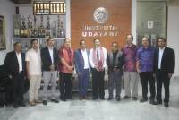 Following up to the MoU, the Deputy Minister of Trade, Industry and the Environment of Timor Leste Visited Unud