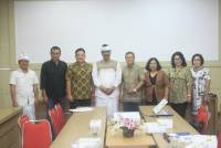 UNSRAT Manado Tariff Service Team Visited the Unud