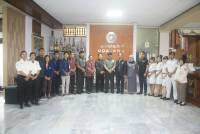"""Program Bela Negara"", Unud Accepted the Visitation of Balitbang Team of Kemhan RI"