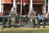 'Indonesia Working Together' Civitas Academic Unud Commemorated the Proclamation Day August 17th Through Flag Ceremony
