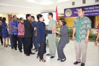Increase  Performance, Rector Rotationed 8 New Officials in Unud