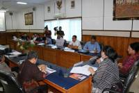 BURT DPR RI, DO WORKING VISIT TO UNUD IN THE FRAMEWORK OF EVALUATION OF RENSTRA DPR-RI 2015-2019