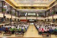 Early April Unud was visited by Thousands of Students from Outside Bali