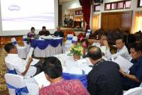 FORUM REKTOR SE BALI TEXT 'BUDGET AND LOGO'