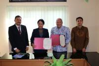 Cooperation in the Field of Training, Udayana University signed MoU with Pertamina University