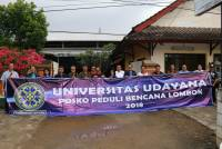 CARE FOR LOMBOK, UNUD DELIVER HELP