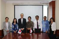 STRENGTHENING COOPERATION WITH FK UNUD, DELEGATION OF IUHW VISIT UNUD
