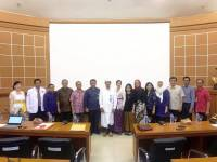LAM PT-Kes Assessor and BAN-PT Visitation of Radiology PPDS-1 Study Program FK Unud