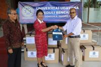 Rector of Unud Submit Udayana University Aid Care for Palu and Donggala Disaster Victims