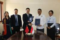 FOLLOW THE CONSTRUCTION OF COOPERATION WITH NANCHANG NORMAL UNIVERSITY, P.R. CHINA, FACULTY OF TOURISM SIGNS OF LETTER OF INTENT