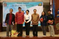 FISIP UNUD HELD NATIONAL SEMINAR, MINISTRY OF INDONESIAN REPUBLIC OF INDONESIA, TJAHJO KUMOLO PRESENT AS NARASUMBER
