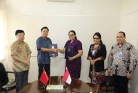 Fakultas Ilmu Budaya Universitas Udayana dan Konsulat Jenderal China Tandatangani Letter of Intent Pembentukan China-ASEAN Cross-cultural Institute (CACI)
