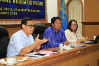 Udayana University Through International Office Affairs Holds Campus Internationalization Socialization