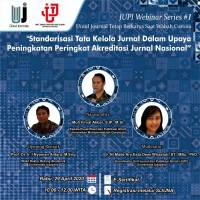 Journal and Scientific Publication Unit (JUPI) of Udayana University, Organizes JUPI Webinar Series # 1.