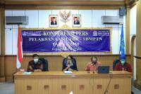 Press Conference of UTBK - SBMPTN 2020 Implementation at Udayana University