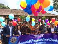 THE EXECUTIVE ADMINISTRATION STUDENTS UDAYANA UNIVERSITY OPENED THE ASSISTED VILLAGE WORK PROGRAM IN PEMPATAN VILLAGE, RENDANG DISTRICT KARANGASEM