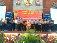 Public Lecture by the Bali Police Chief General as the General Stadium for the 120th Pre-Graduation