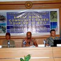 THE FOUR 'COMMUNITY BASED TOURISM' MODELS IN BALI